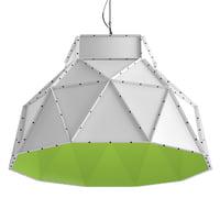 3D apollo lamp model