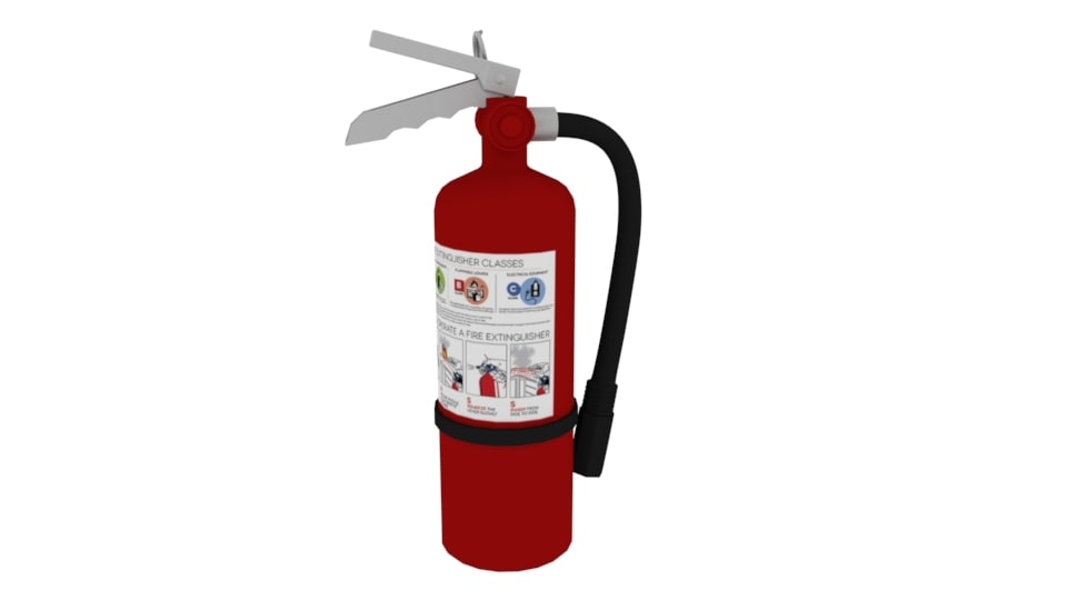 extinguisher pro 3D model