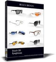 3D model eye glass