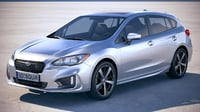 subaru impreza estate 3D model