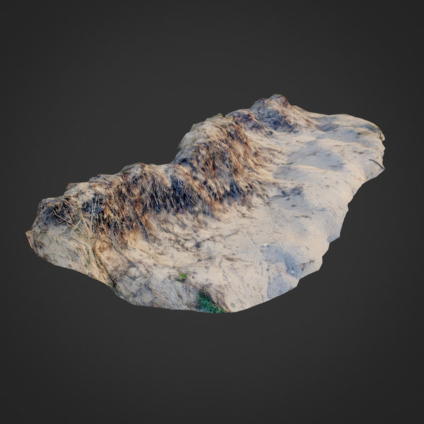 3D nature ground edge 001