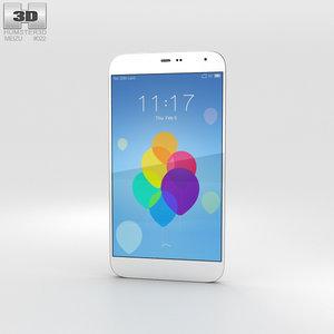 meizu mx3 white model