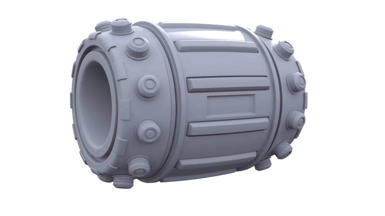 contraption v 1 3D model