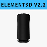 E3D - Samsung Radiant360 R3 Wireless Speaker 3D model