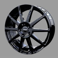 automobile alloy wheel - 3D model