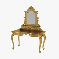 Anais Dressing Table & Mirror