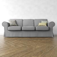 3D ikea ektorp sofa