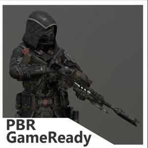 gameready 3D model