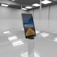 3D cellphone phone model