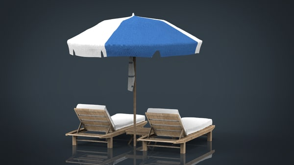 beach chair umbrella model