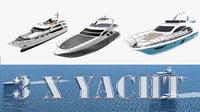 3 yacht 3D