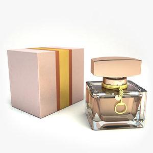 3D bottle parfume