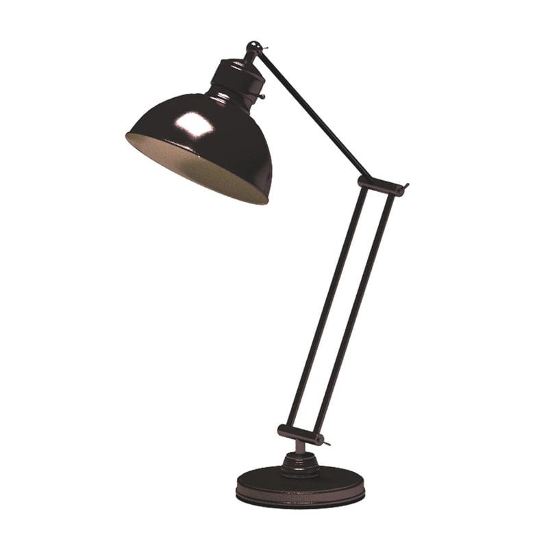 3D study table lamp