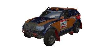 rally t1 raid 3D model