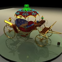 3D model carriage