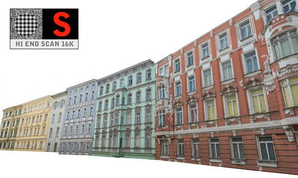 facade street 3D
