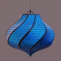 lamp moroccan pattern 3D model
