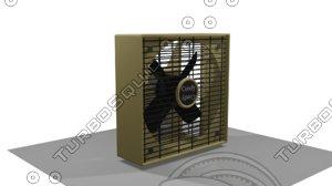3D fan comfy