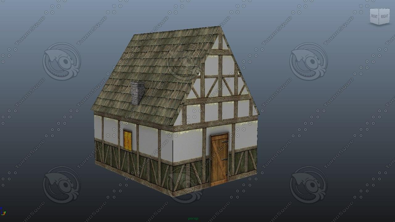 old house01 3D model