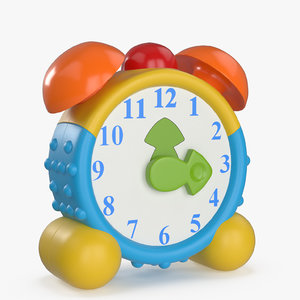 toy alarm clock 3D model