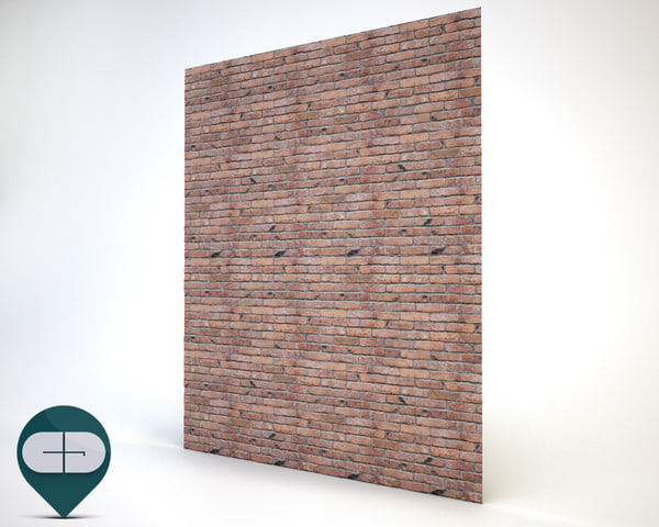 materials wall repeatable 3D model