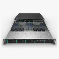 Server Chassis 1U with Board