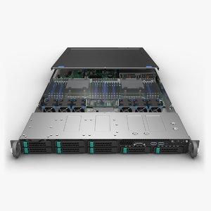 3D model server board