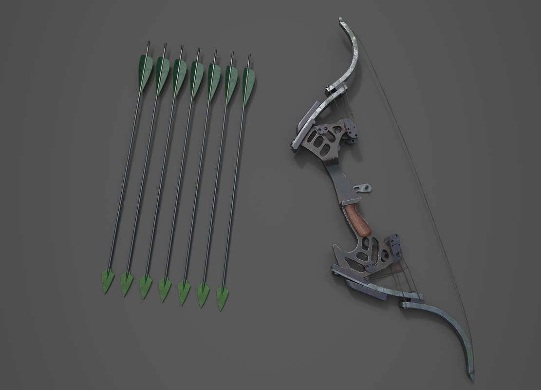bow oneida kestrel 3D model