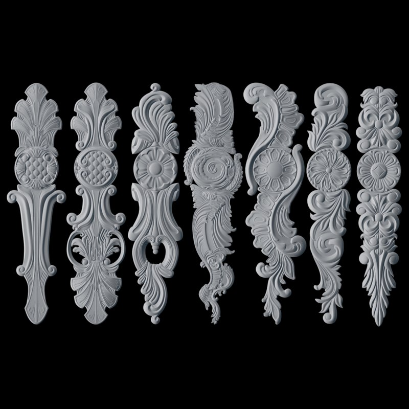 3D decorative printing stl