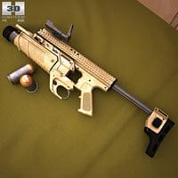 fn mk 13 3D model