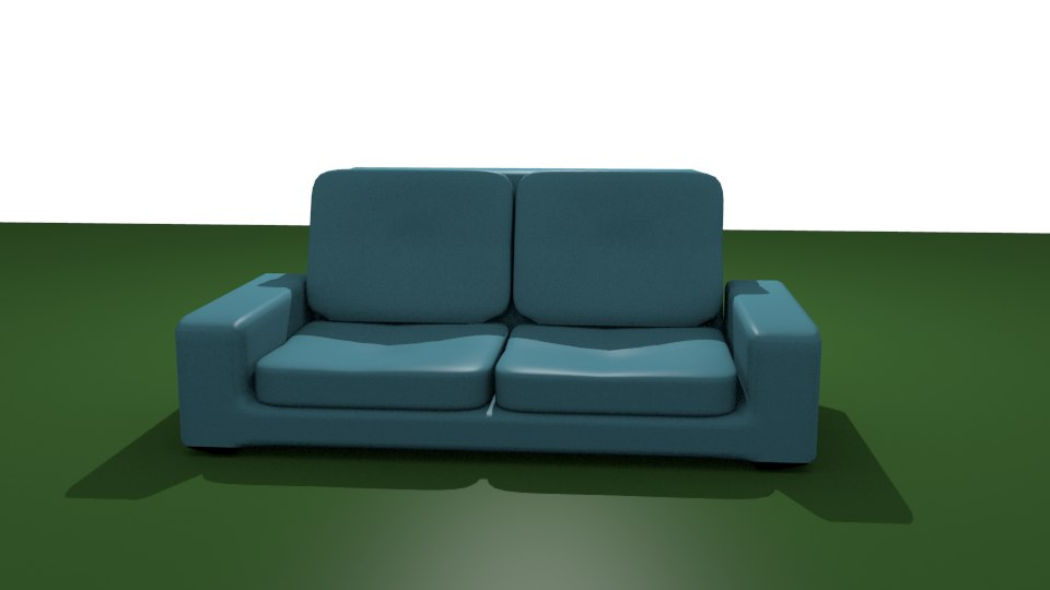 3D smart couch