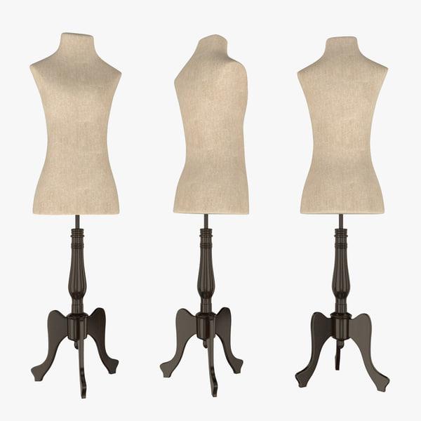 3D mannequin female 2