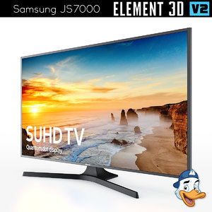 3D model samsung js7000 element