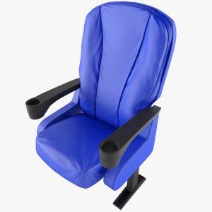 3D chair armchair model