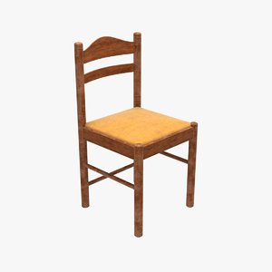 chair real-time 3D model