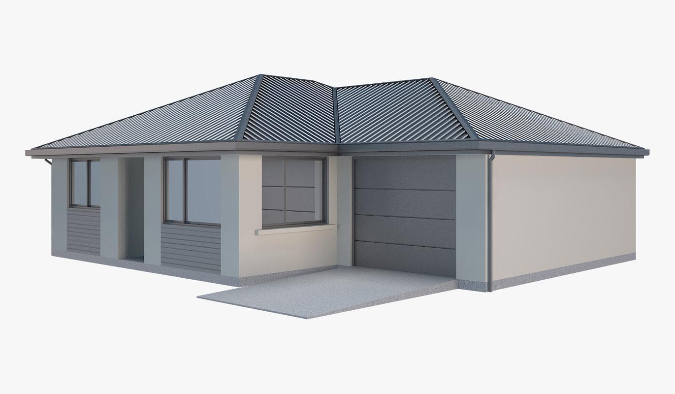 house family 3D model