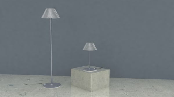romeo moon lamp 3D model