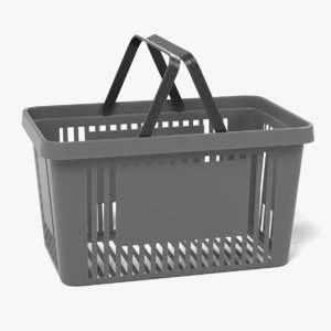 shopping basket 2 model