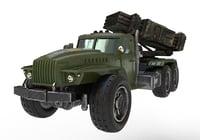 3D model car kraz