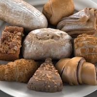 Realistic Pastry 3D Model Pack