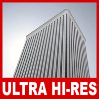 picasso tower skyscraper 2 3D model
