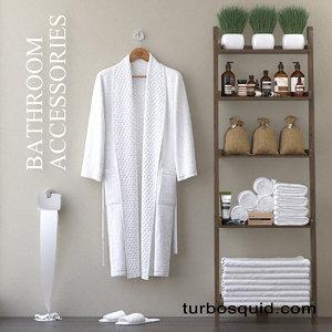 shelves robe 3D model