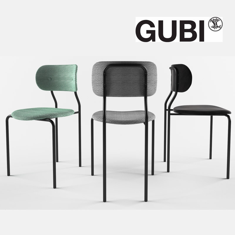 gubi coco dining chair model