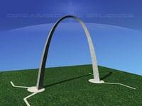 arch gateway 3D model