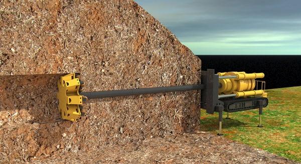 raise boring rig 3D