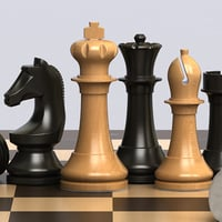 chess set solid