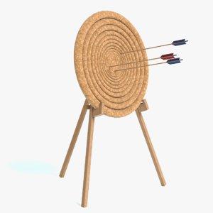 3D archery hay target