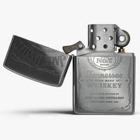 zippo jack daniels lighter 3D