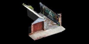 graffiti house 3D model