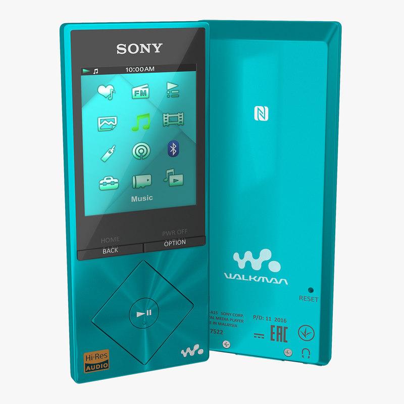 sony nwz a15 walkman model